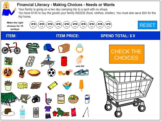 All Worksheets Cut And Paste Worksheets For First Grade Free – Needs Vs Wants Worksheets