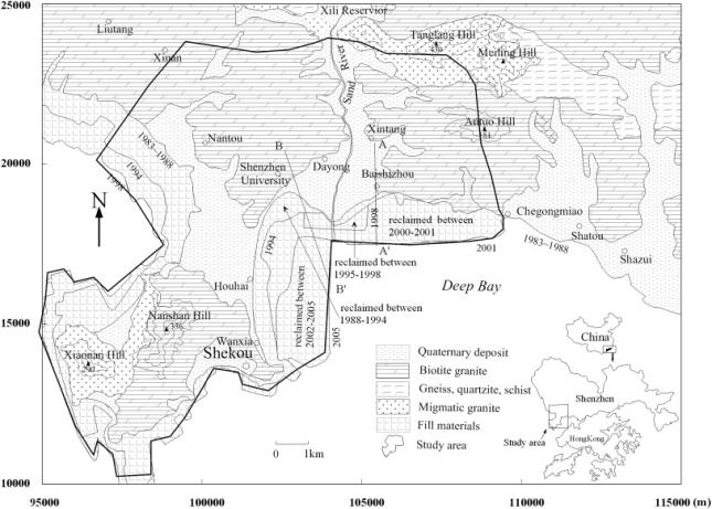 shenzhen land reclamation