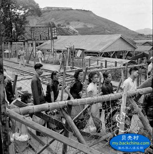 1951年的罗湖关~铁路桥