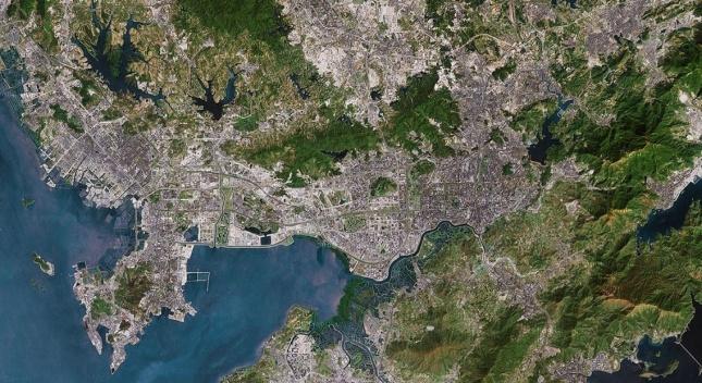 2005-Shenzhen-Satelite-Image