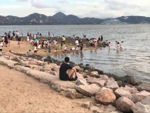 Beach, Shekou, July 19, 2020.